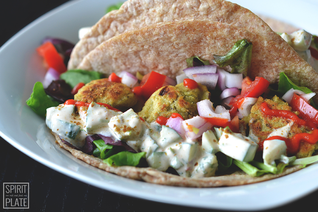 Quick and Easy Falafel | SPIRITPLATE