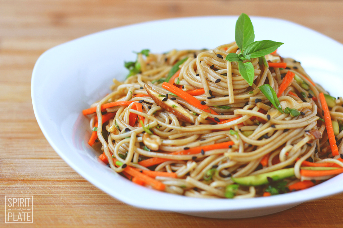 Refreshing Soba Salad | SPIRITPLATE