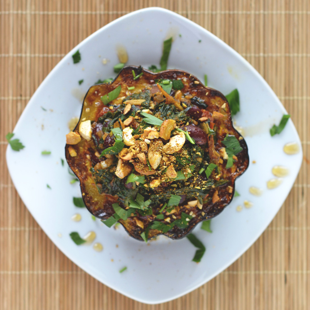 Hearty Stuffed Acorn Squash | SPIRITPLATE