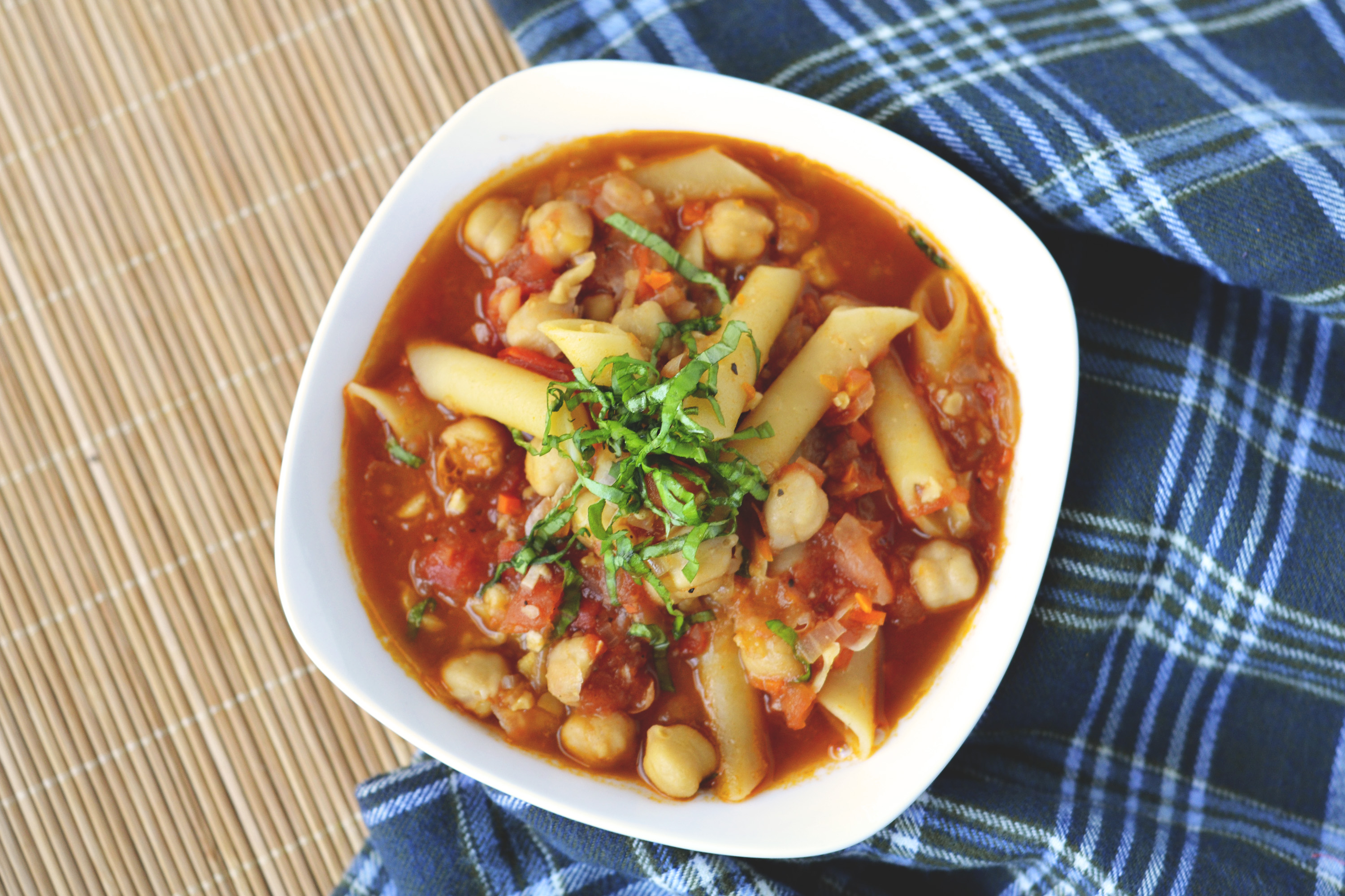 This soup is called Pasta e Ceci, a cousin to the more common Pasta e ...