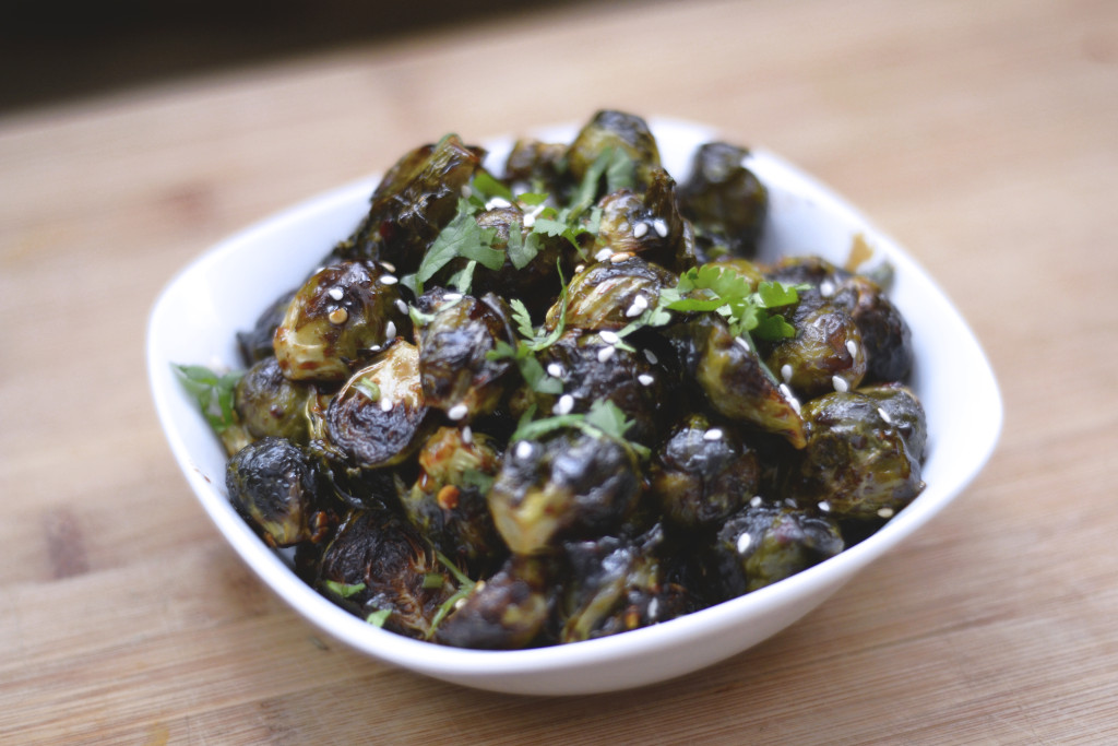Soy Chili Glazed Brussel Sprouts | SPIRITPLATE