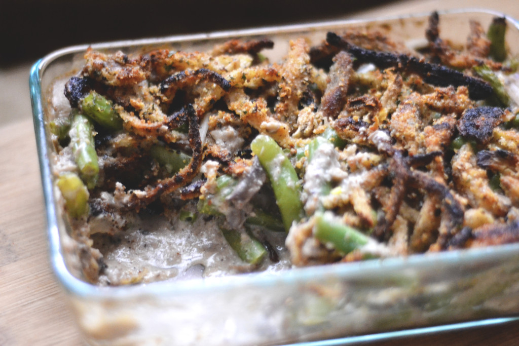 The Best Vegan Green Bean Casserole | SPIRITPLATE