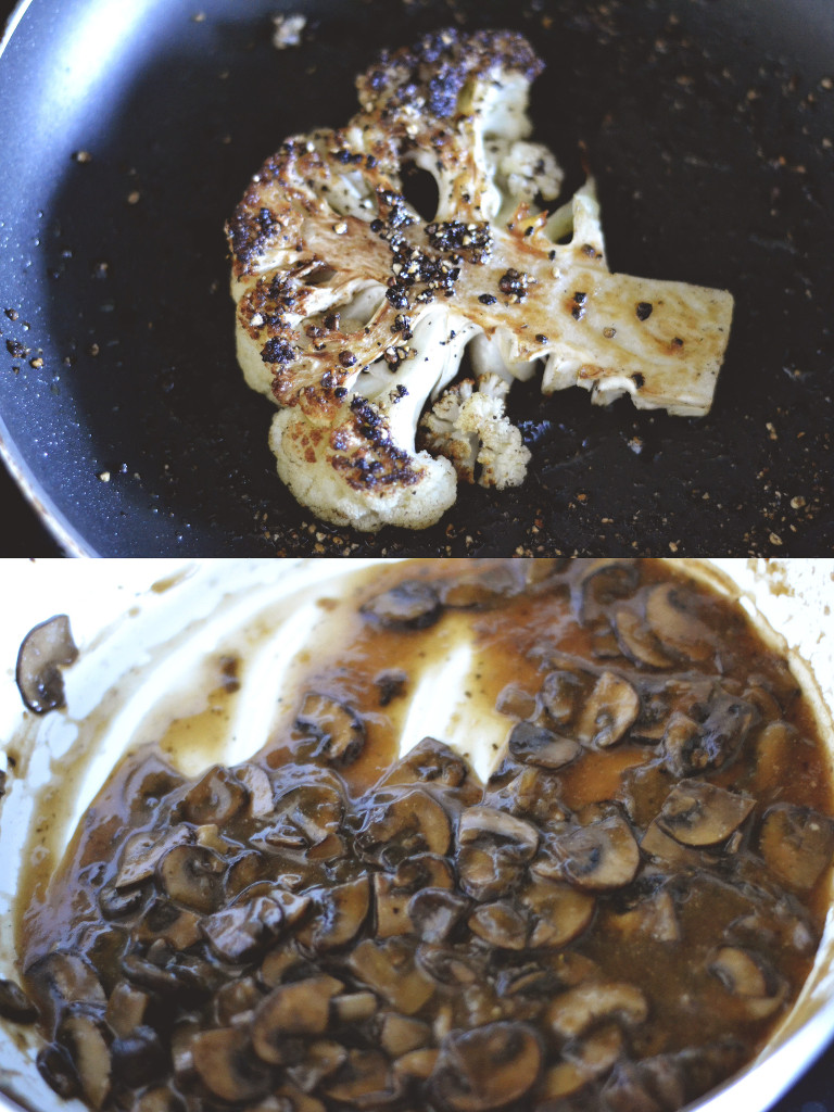 Cauliflower Steak au Poivre | SPIRITPLATE