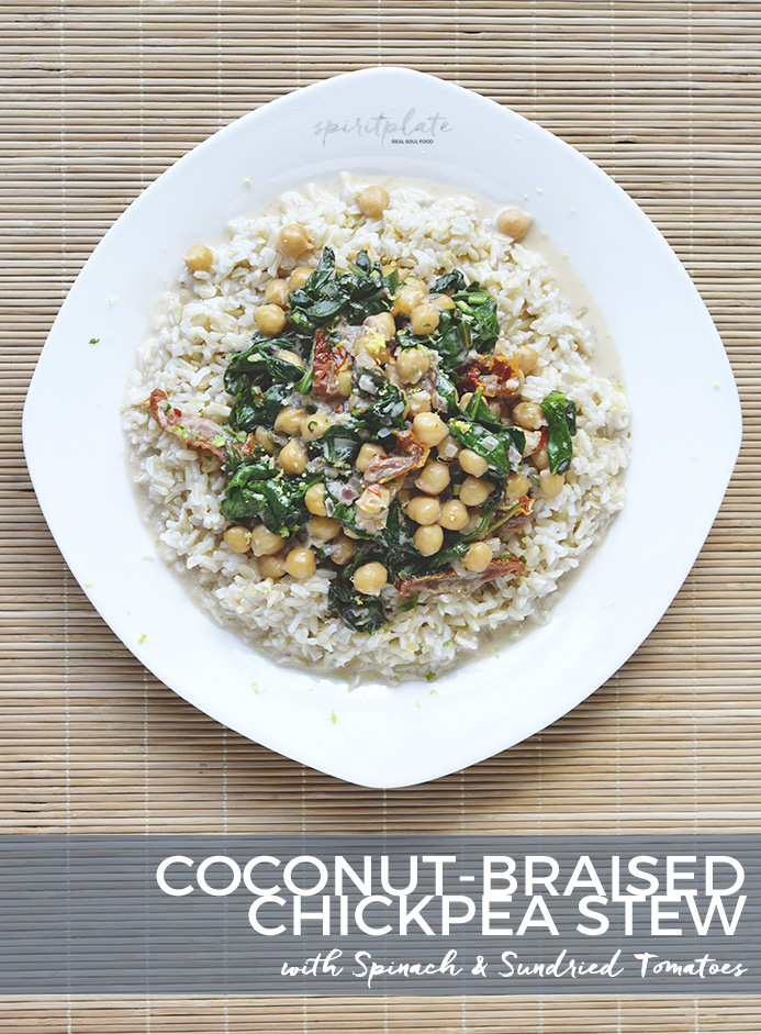 Coconut-Braised Chickpea Stew | SPIRITPLATE